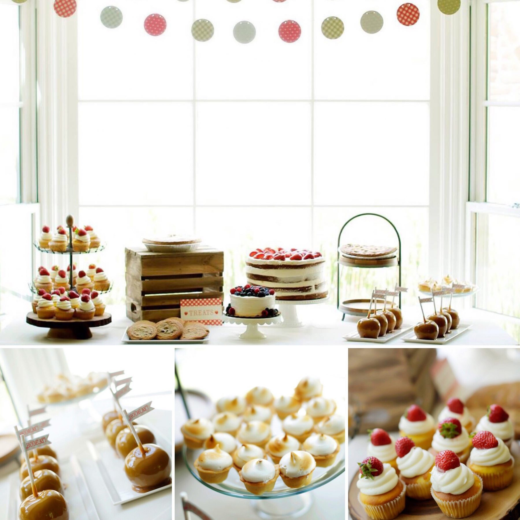 Farmers Market Birthday Party Ideas and Inspo Pics Dessert Table