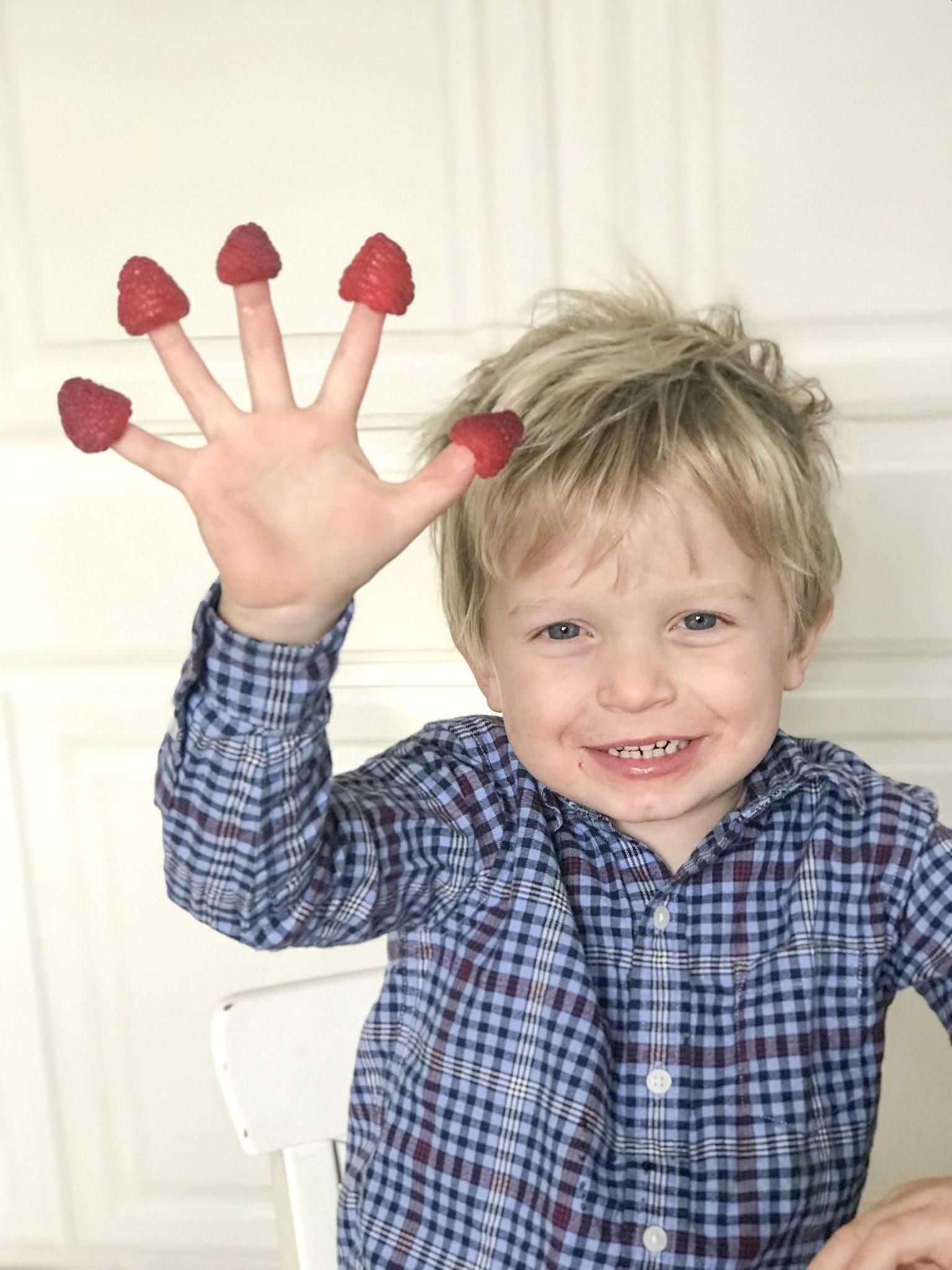 Rasberry Fingers