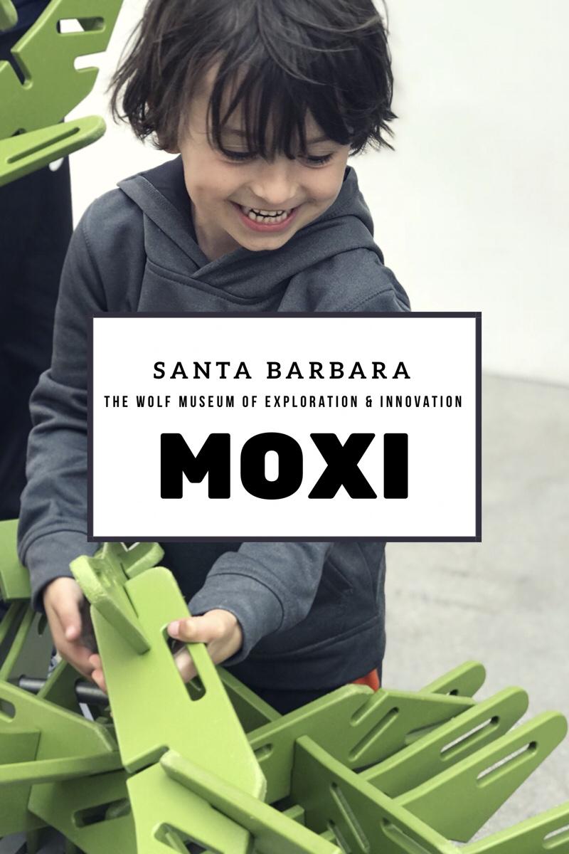 Santa Barbara Moxi Museum - Science Museum for Kids on State Street in Downtown Santa Barbara is a must visit when visiting Santa Barbara with kids!