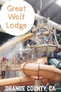 Great Wolf Lodge Indoor Water Park in Buena Park, near Disneyland