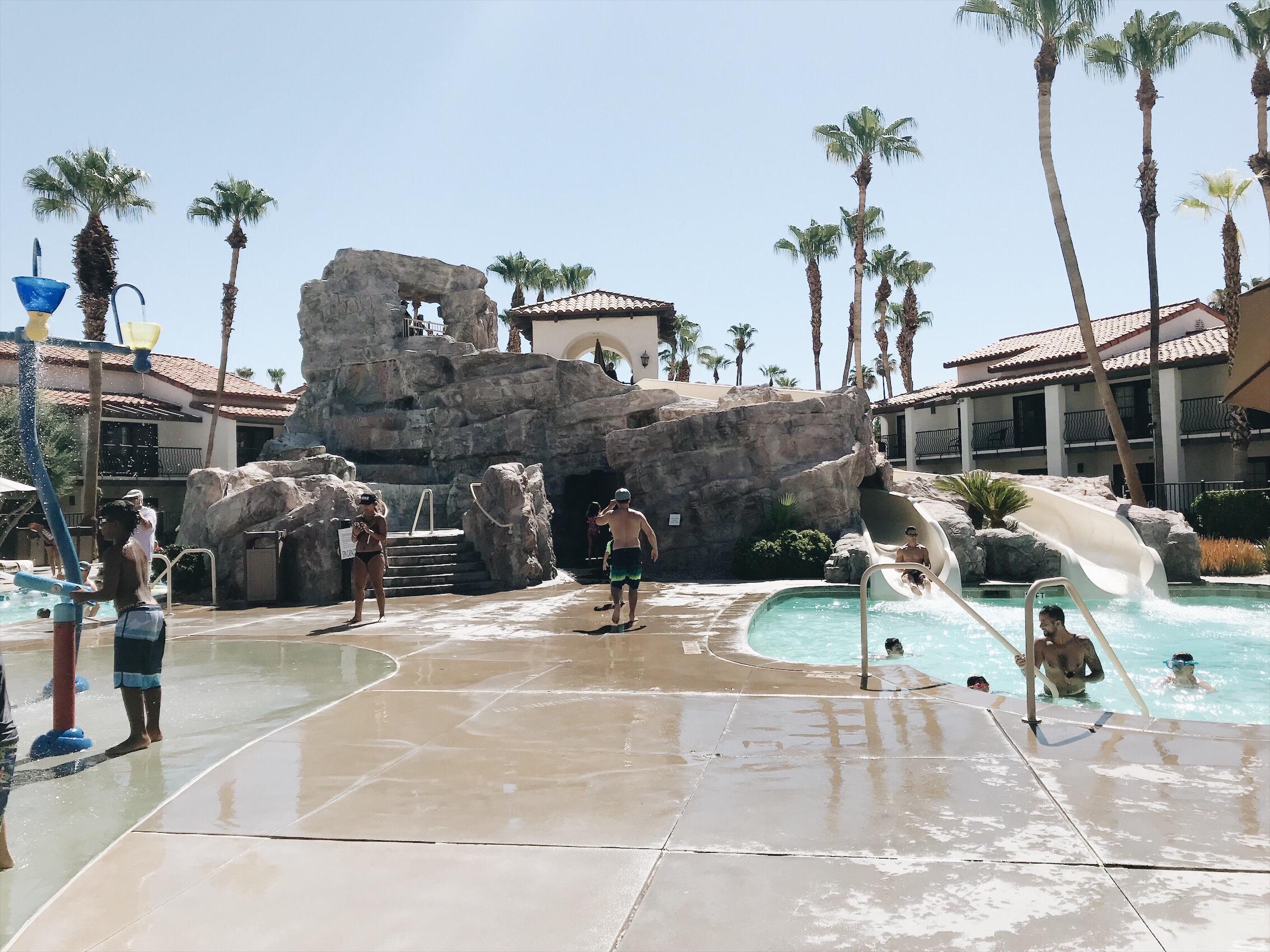 Omni Rancho Las Palmas Palm Springs Water Slides