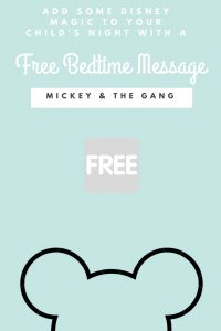 This month from Disney!! Add a little special Disney Magic to your bedtime routine FREE with a special bedtime message from one of your favorite Disney Characters! #disney #wdw #disneylove #disneylife #mickey #walt #mickeymouse #mickeymouseclubhouse #disneyworld #disneyland #free #freestuff #coupons #getmorehappy #disneymom #minnie #minniemouse #goofy #free #pinoftheday #freebie #freebies #magickingdom