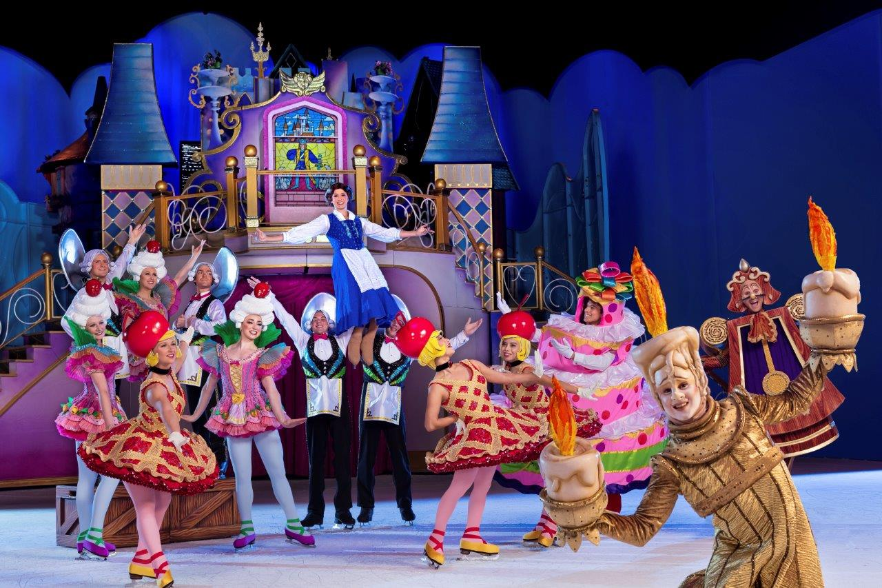 """Iconic sing-along songs such as """"How Far I'll Go,"""" """"Be Our Guest"""" and """"Let It Go"""" are paired with powerful skating choreography to instill confidence and embolden audiences to never stop dreaming. Uncover why no goal is too big when we find the strength to shape our own destiny at Disney On Ice presents Dare To Dream coming to your hometown! Plus fans are encouraged to arriveearly to celebrate familyand tradition with a special sing-along with Miguel from Disney•Pixar'sCocoin alive fiesta Disney On Ice style prior to the show!"""