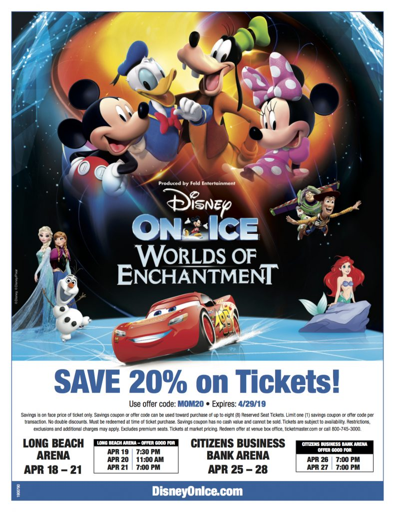 Disney on Ice Discount Code Coupon 20% off