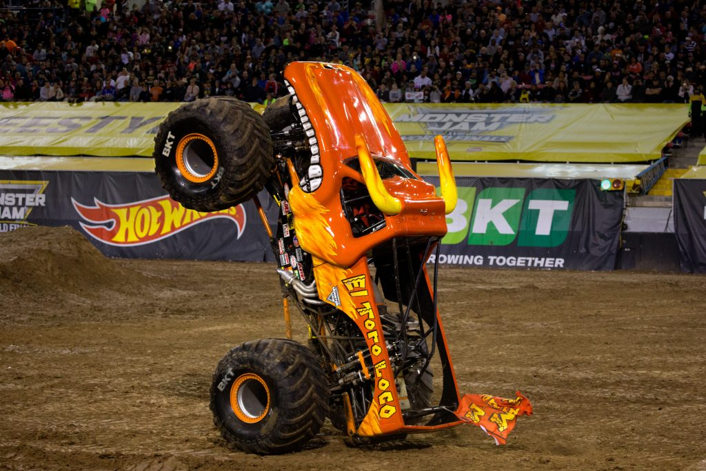 Monster Jam Returns in Los Angeles Staples Center in July 2021 - Featuring El Toro Loco! Fun Things to do With Kids in Southern California