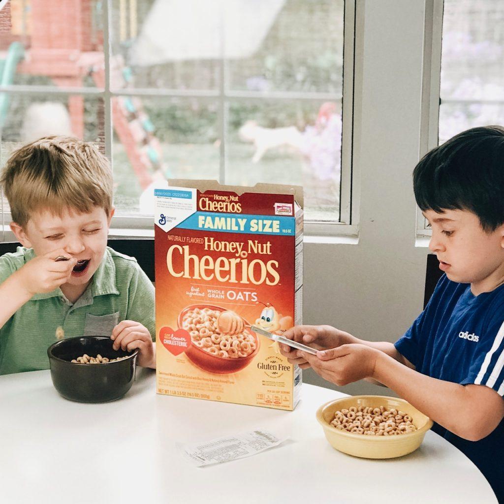 Walmart Cheerios Double Box Tops