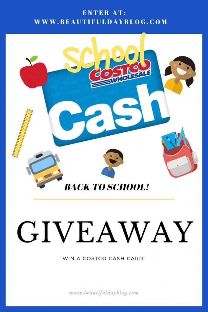 Costco Giveaway- Win a Costco Cash Card!