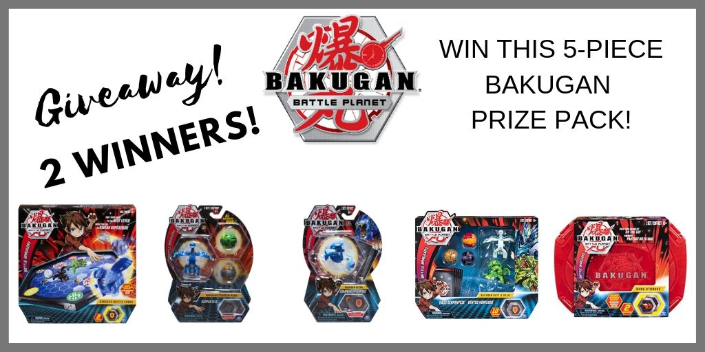 Bakugan Giveaway - Ultimate Prize Pack