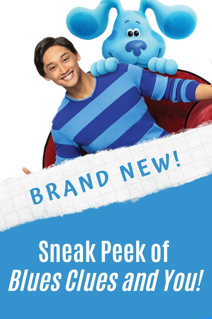 Catch the Sneak Peek of the Brand New Blues Clues & You from Nickelodeon