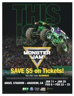 Monster jam coupon code