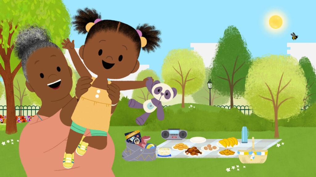 """Nickelodeon Announces """"JoJo & Gran Gran"""" Coming to Noggin"""