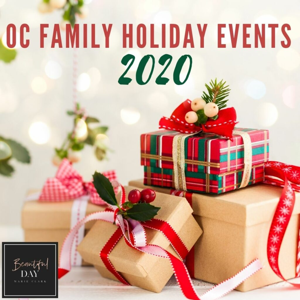 2020 Orange County Holiday Events for Kids